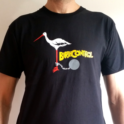 Birth Control T-Shirt - Der Storch